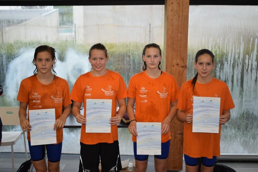 Országos Gyermek Bajnokság, Kecskemét, 2018.07.18-21. - 4x100m vegyesváltó, 6.hely