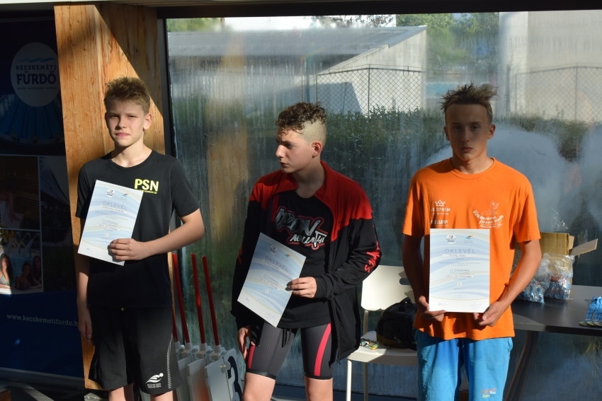 Országos Gyermek Bajnokság, Kecskemét, 2018.07.18-21. - Pintér Ádám, 400m gyors, 6.hely