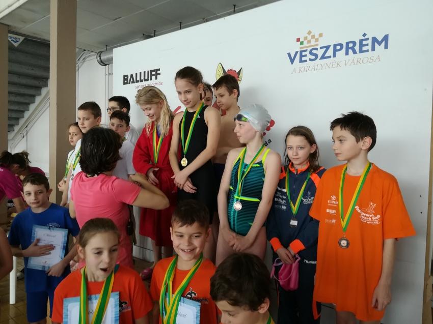 Úszósuli Körverseny,Veszprém,2018.02.24