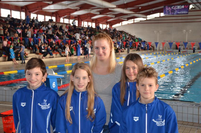 Korosztályos úszóversenyek eredményei